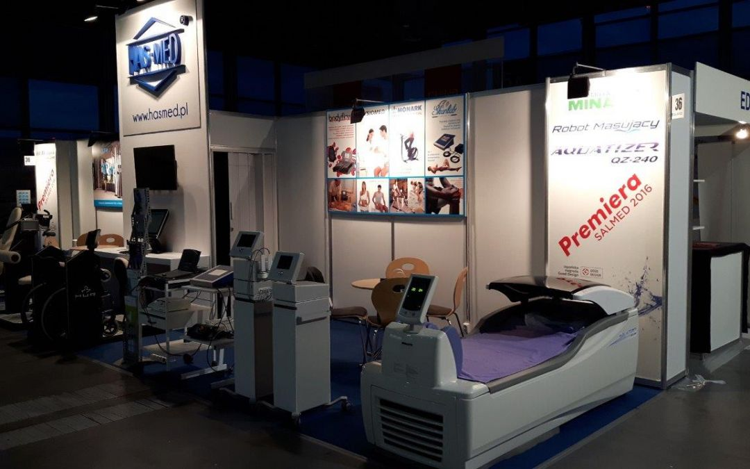 Premiera Aquatizer QZ-240 – SALMED-Międzynarodowe targi Sprzętu i Wyposażenia Medycznego-marzec 2016